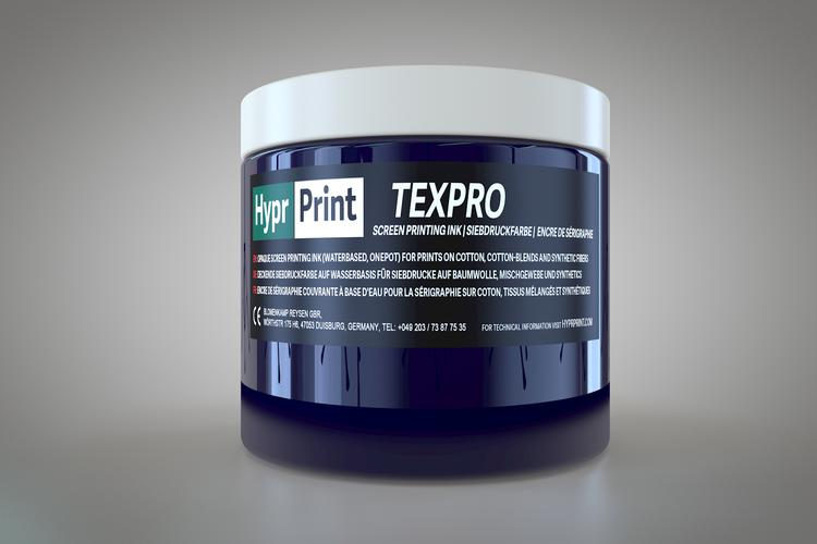HyprPrint TEXPRO marineblauw 250ml