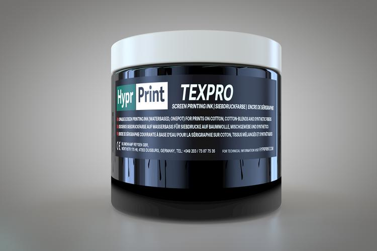 HyprPrint TEXPRO zwart 250ml