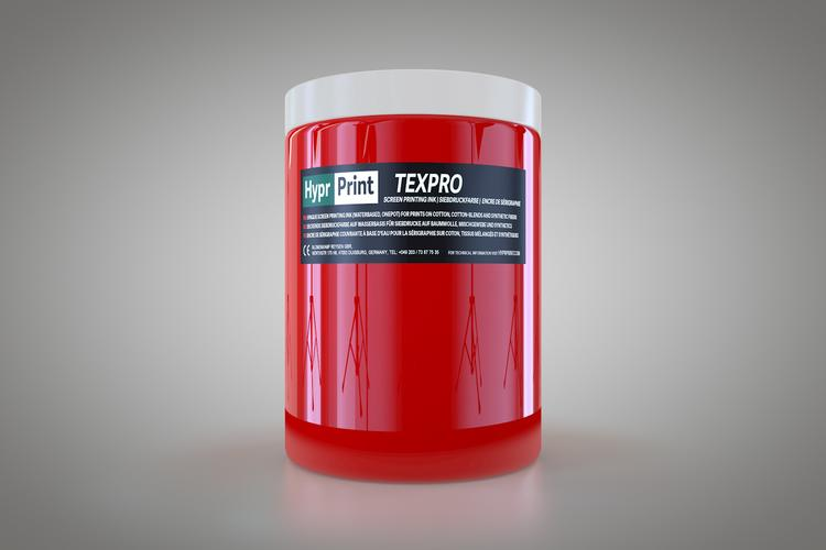 HyprPrint TEXPRO rood 1 liter