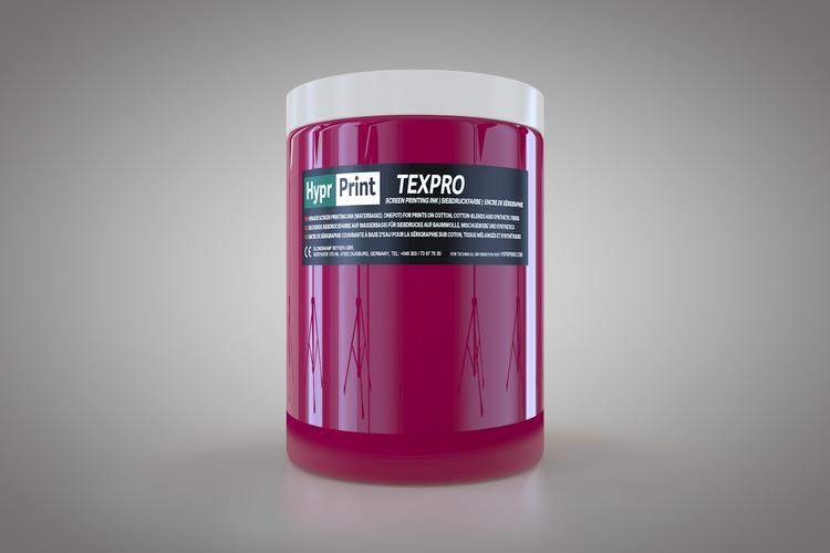 HyprPrint TEXPRO rhodamine rood 1 liter